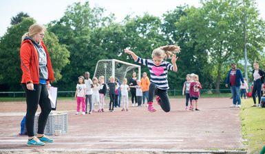 Schulfest Sportabzeichen